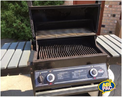 Premi�re photo pour Charcoal (bbq) au propane Napoleon