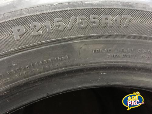Premi�re photo pour Pneus 215/55R17