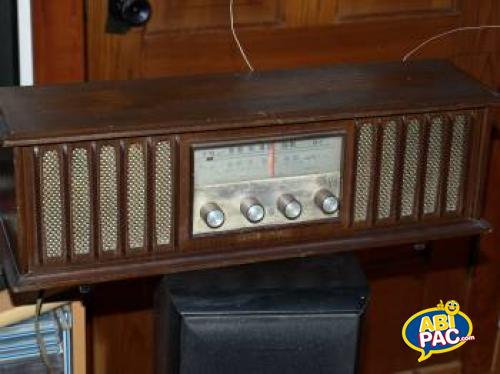 Premi�re photo pour radio antique