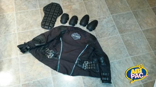 Première photo pour Manteau de moto pour femme